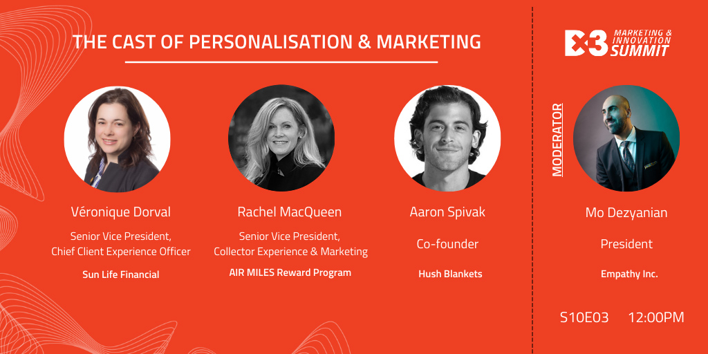 Personalization and Marketing Panel Hero