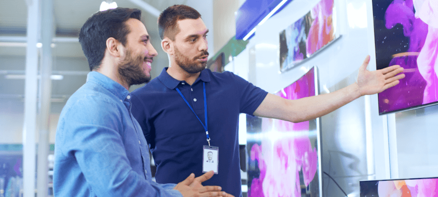 Customer Experience at Electronics Store